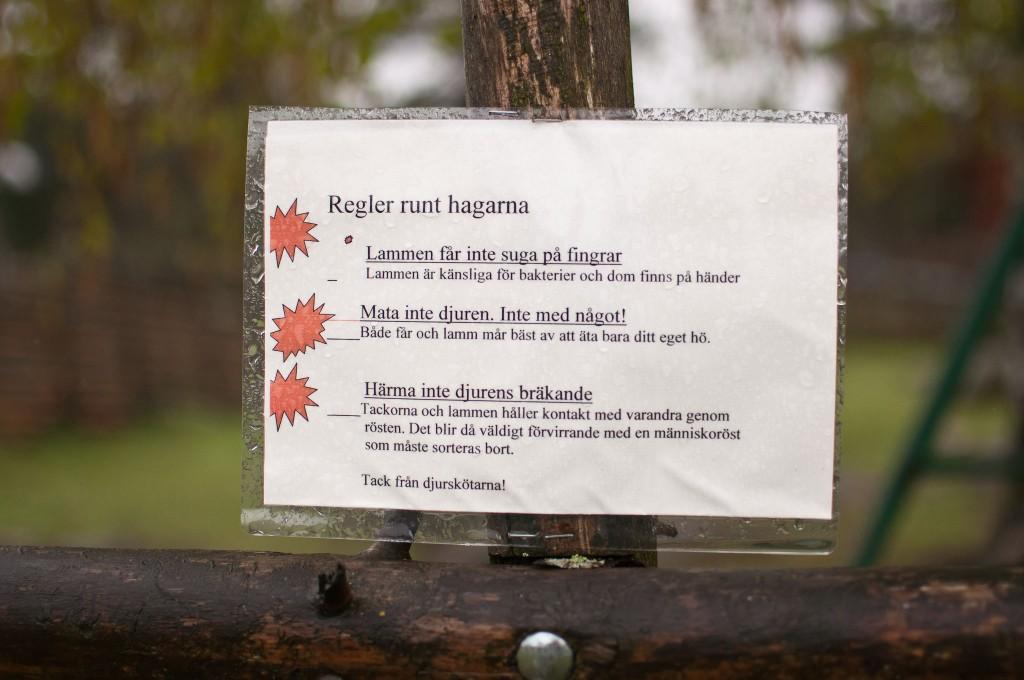 Regler runt hagarna